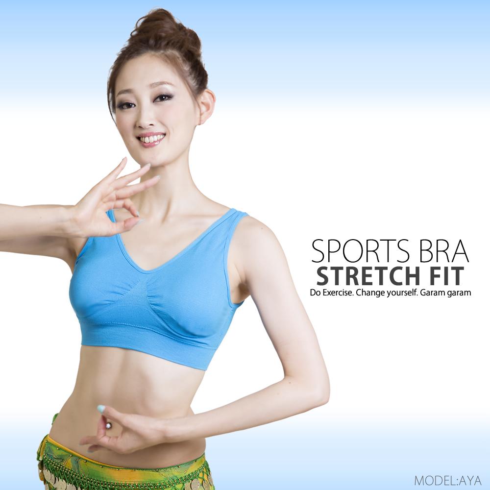 【Sサイズ】スポーツブラ ストレッチフィット