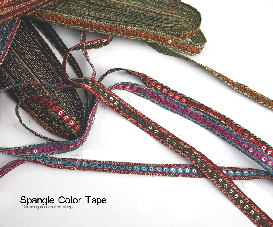 スパンコールカラーテープ  (100cm)
