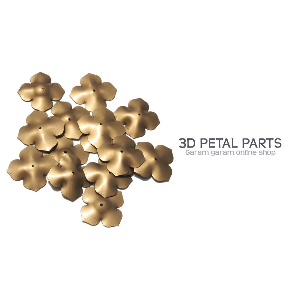 3Dペタルパーツ(10枚)
