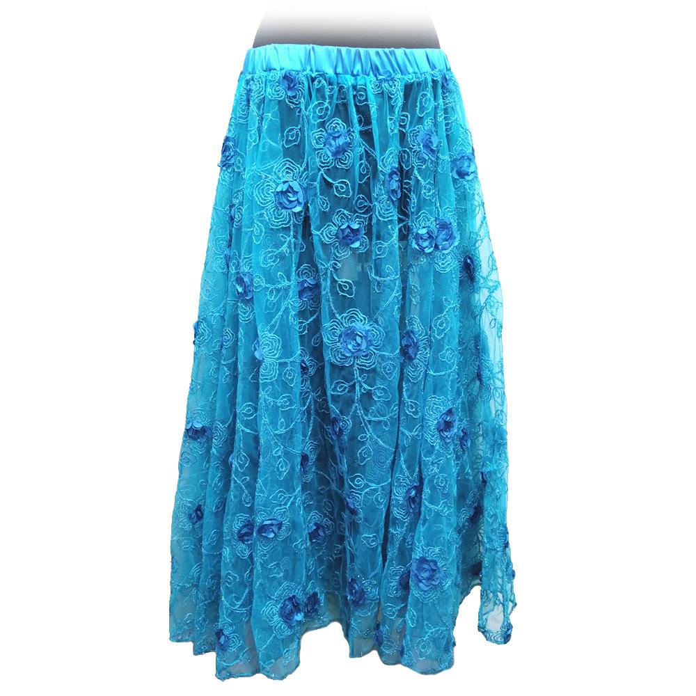 ターコイズシャインスカート