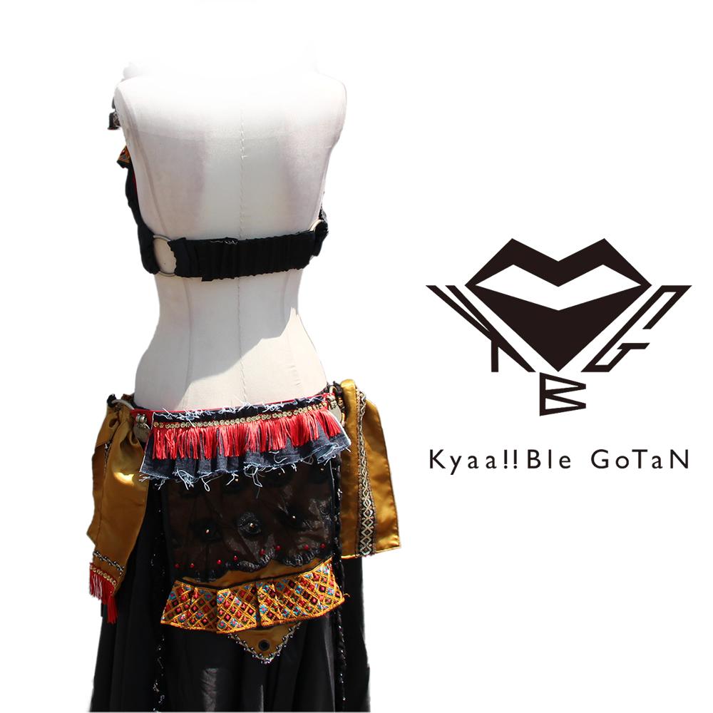 《一点物》【Kyaa!!Ble GoTaN】コスチューム(ブラ+ベルト)