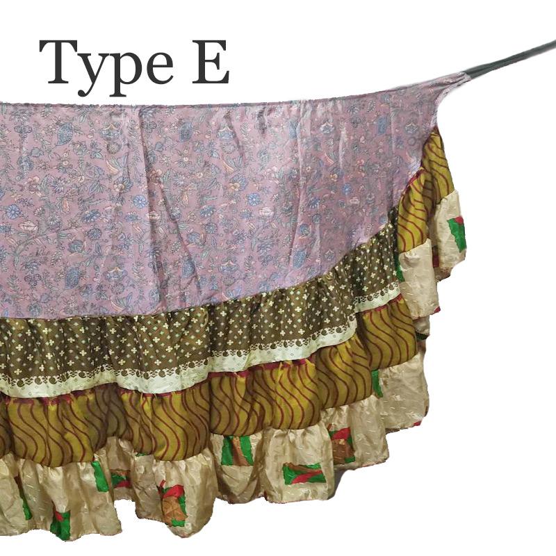 【新色入荷!】Wrap around skirt (巻きスカート)