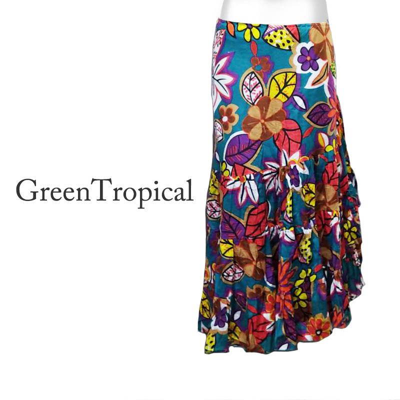【フリルタイプ】ラップ・スカート(巻きスカート)
