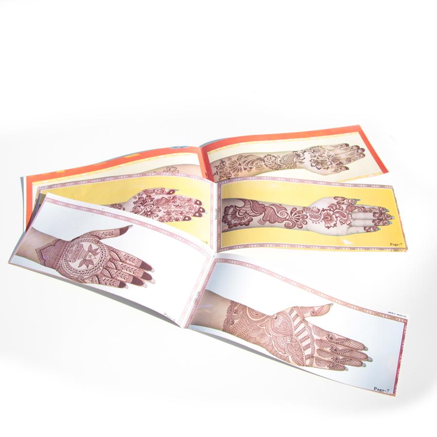 ・ヘナ デザイン ブック(2冊セット・アソート)