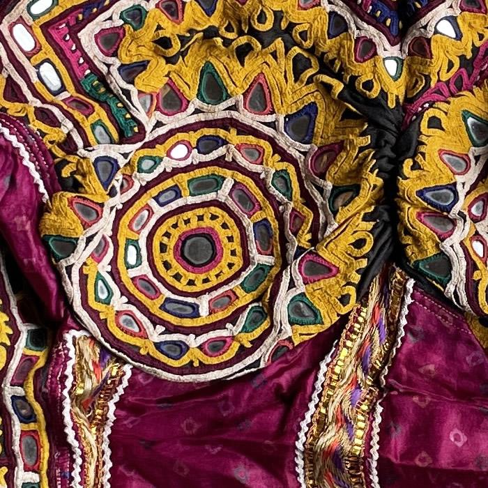 民族衣装トップス(ラバリ族)24G