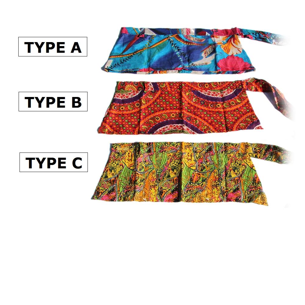 【ショート丈】インディアンプリントヒップスカート