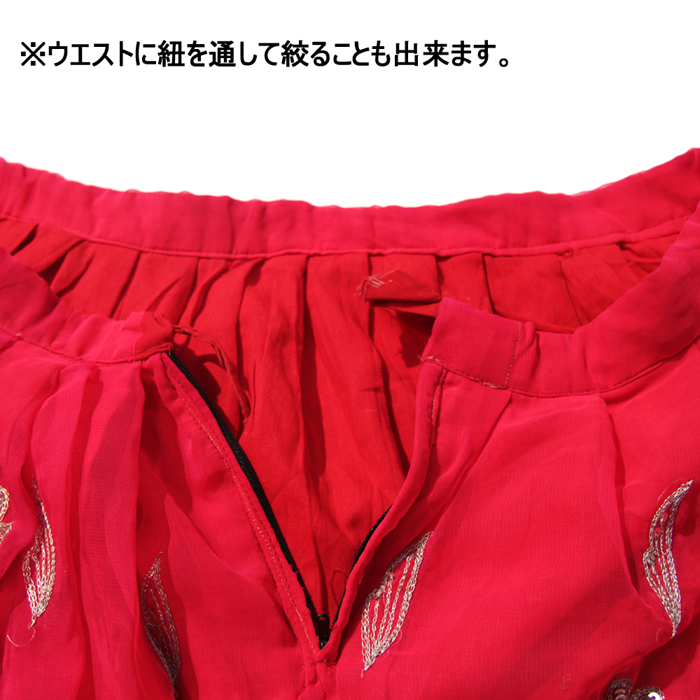 Garam garam アンティークマハラニスカート No.14