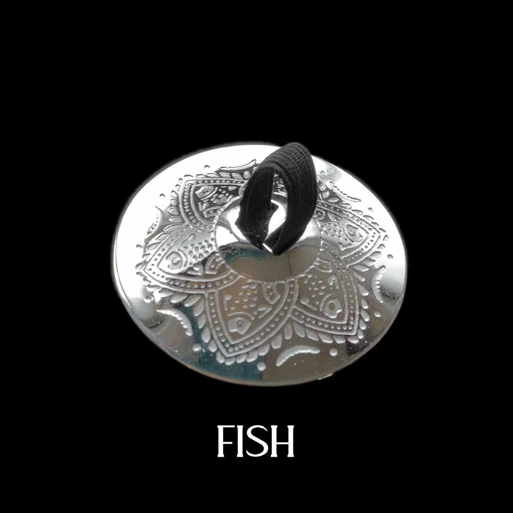 ガラムガラム シルバー プレミアム フィンガーシンバル(ジル)  ※4枚2組両手分