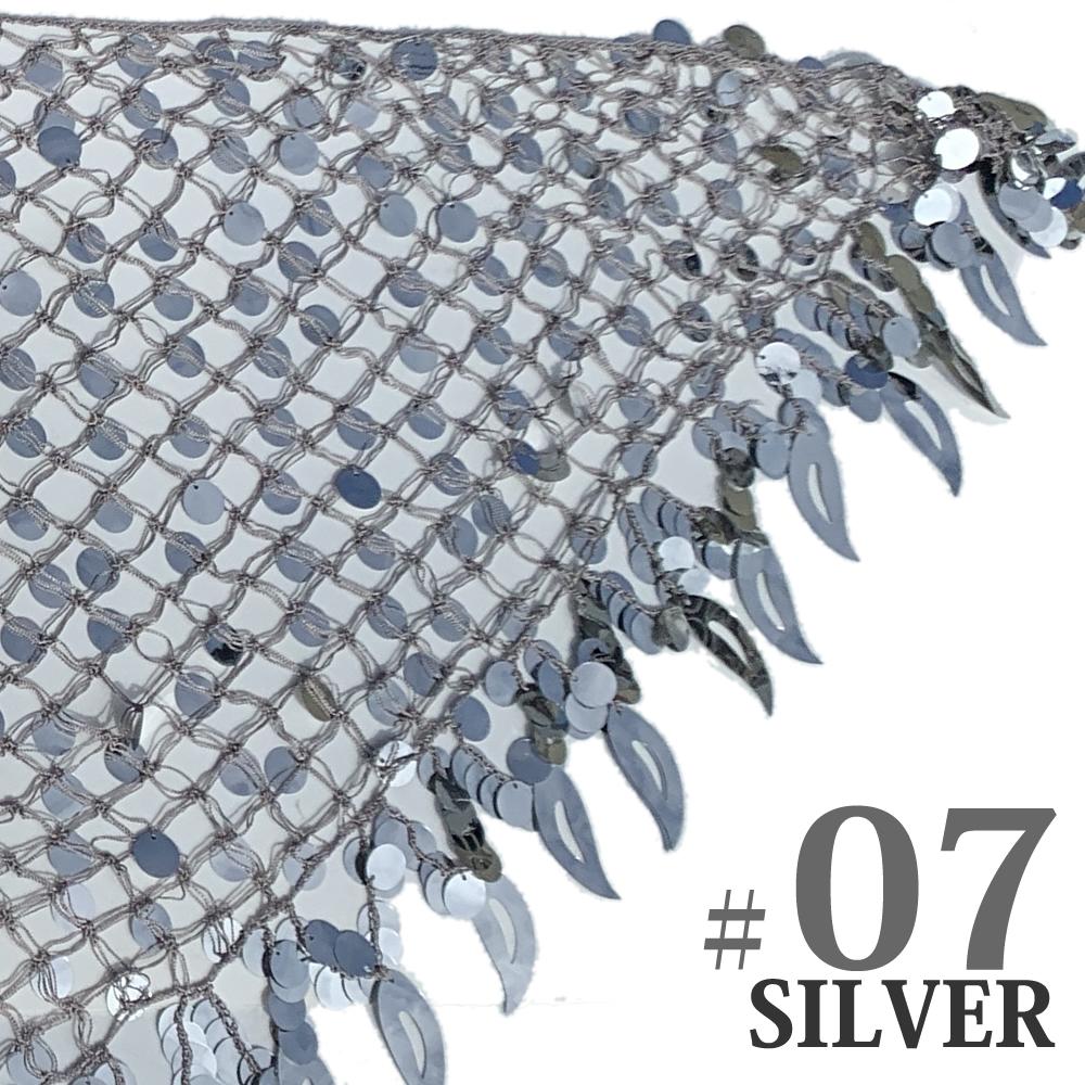 シャイニングプレートネットスカーフ