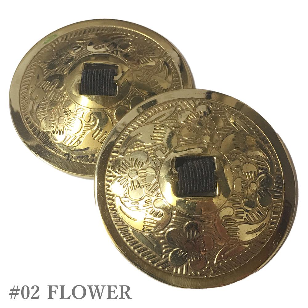 ガラムガラムオリジナル フィンガーシンバル(ジル)  ※4枚2組両手分