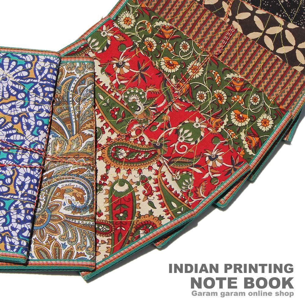 インディアンプリンティングノートブック