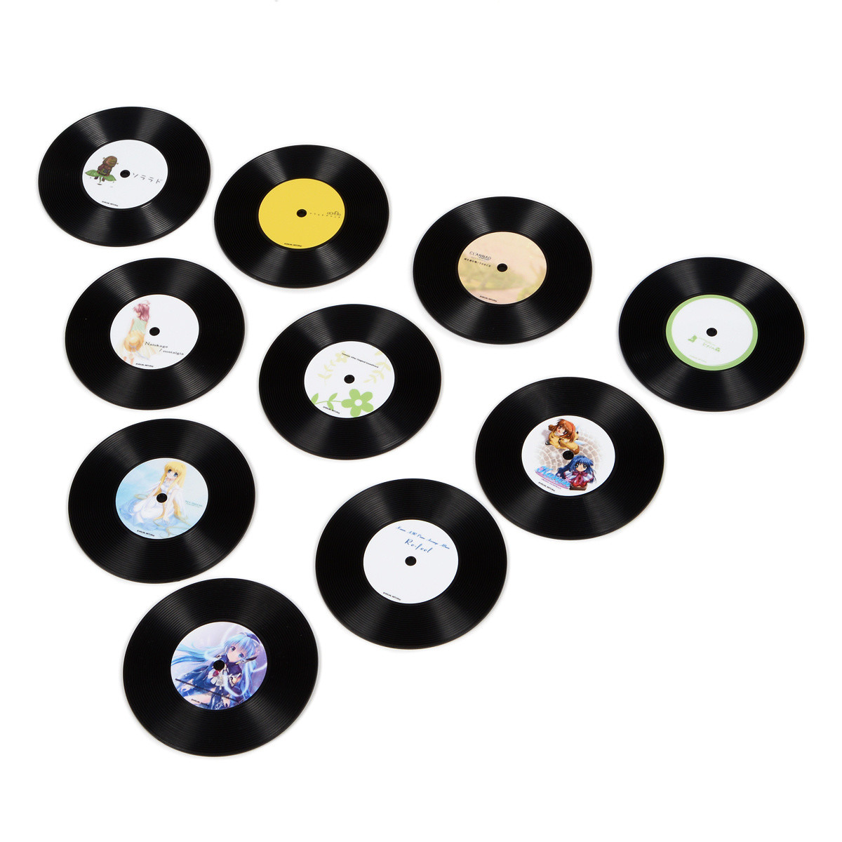 Key 20th Anniversary トレーディングレコードコースター vol.1