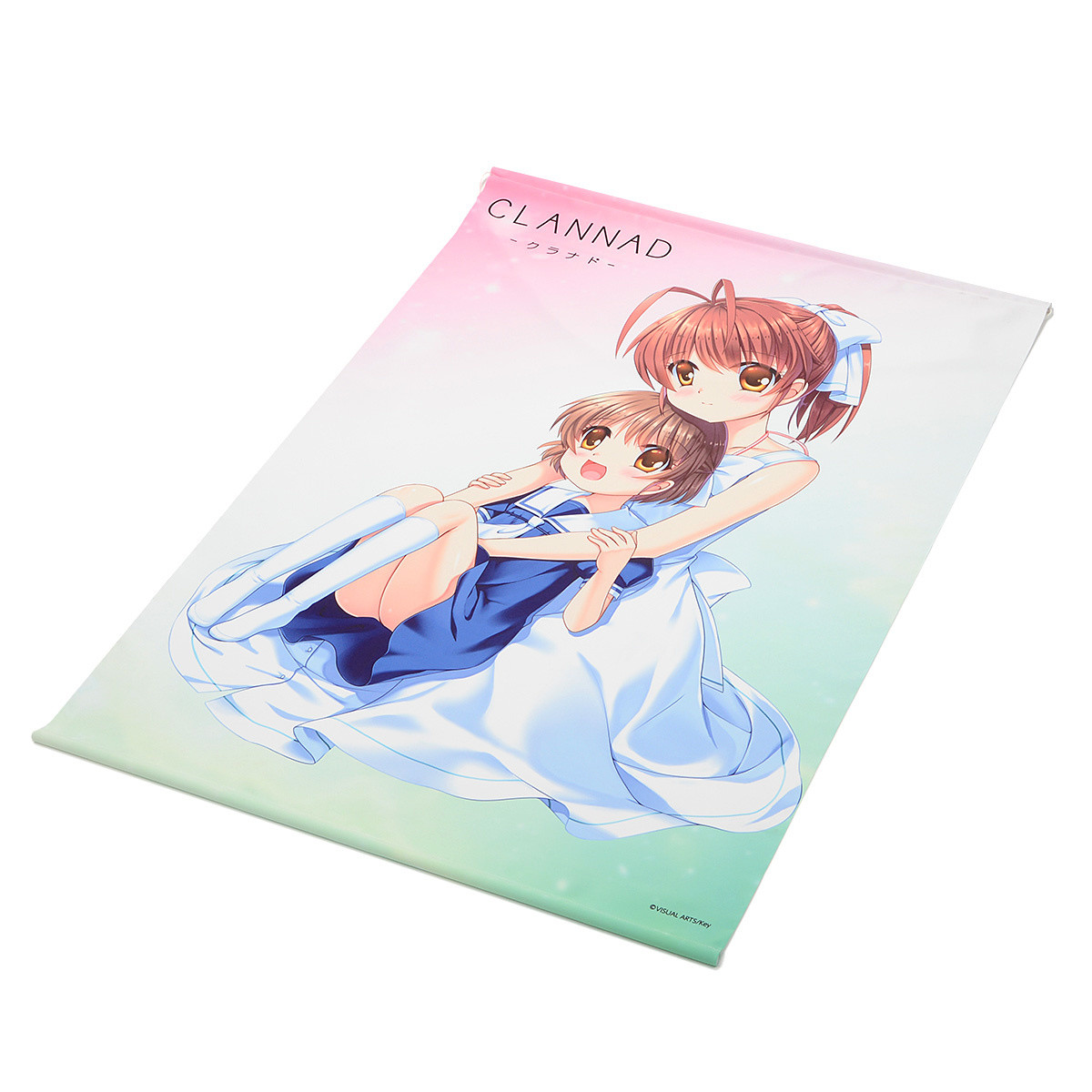 Key 20th Anniversary 描き下ろしタペストリー CLANNAD