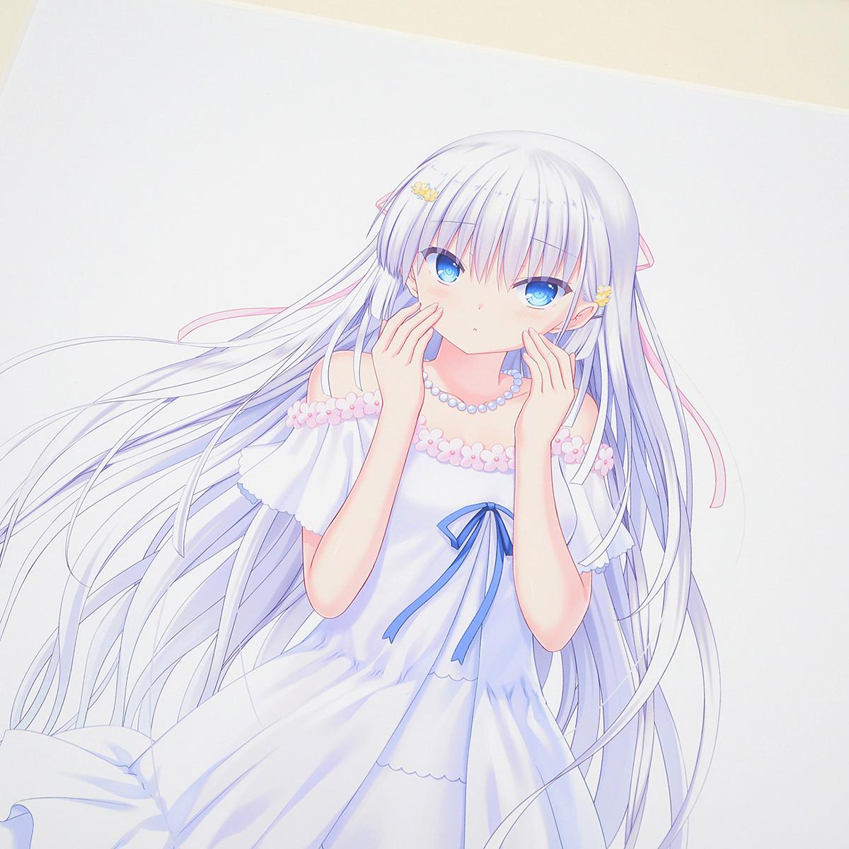 Key 20th Anniversary 描き下ろしイラスト複製原画 Summer pockets