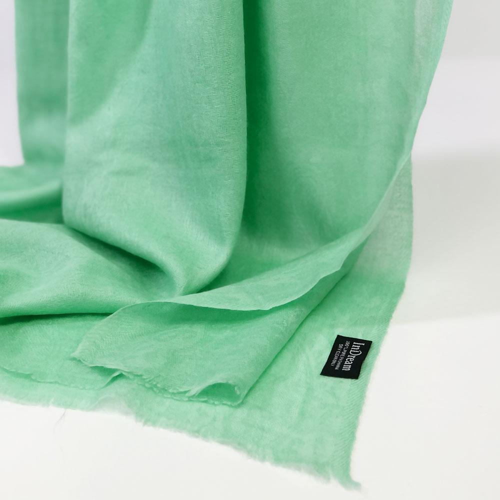 ストール パシュミナ マフラー ペイズリー柄 緑 グリーン カシミヤ100% 秋冬 誕生日 プレゼント