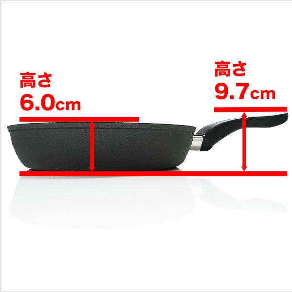 フライパン 28cm x 6.0cm IH&直火用 NANOPAN (ナノパン)