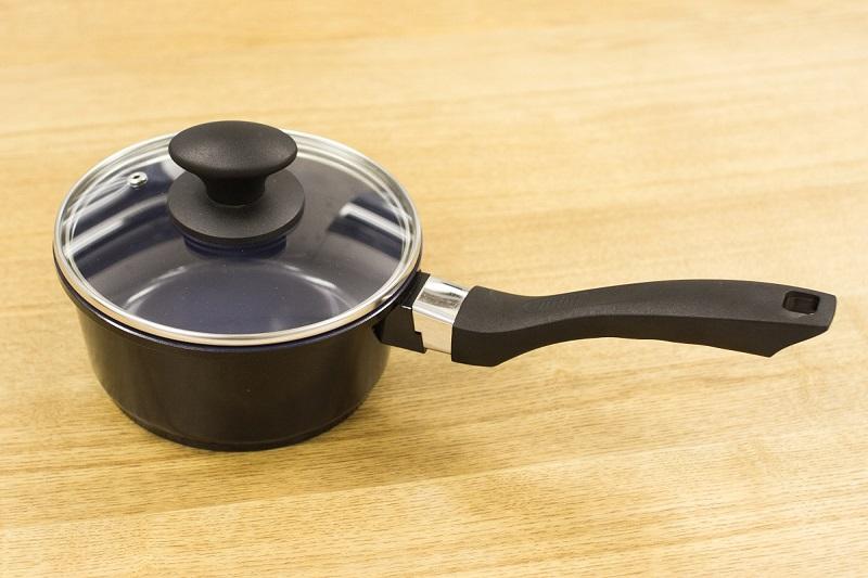 セラミック片手鍋 16cm x 7.5cm IH&直火用 Ceramica Kobaltblau (セラミカコバルトブルー)