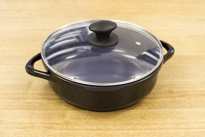 セラミック鍋 24cm x 7.5cm IH&直火用 Ceramica Kobaltblau (セラミカコバルトブルー)