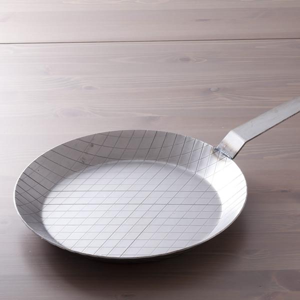 鉄フライパン (ロング) 32cm IH&直火用 GASTRO(ガストロ)