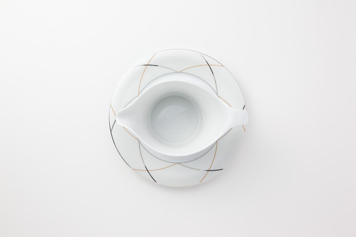 Koeniglich Tettau(Jade silk)ソースボート&スタンド