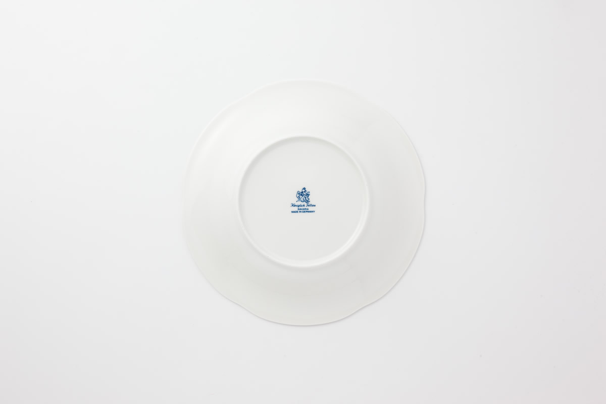 Koeniglich Tettau(Rubin cream)スープ皿