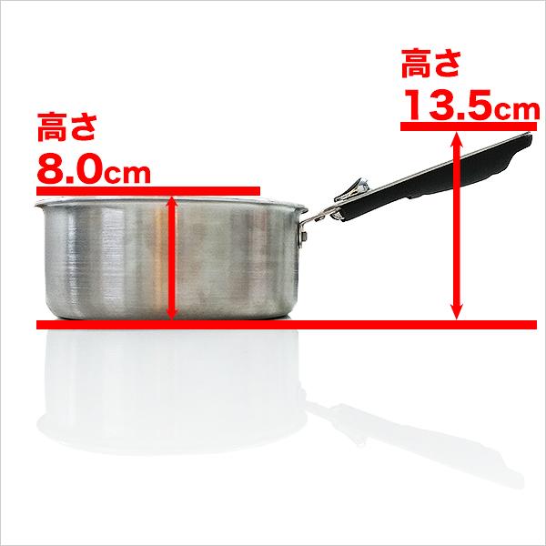 王様フライパンPENTA(ペンタ)18cm×8.0cm 深型 IH&直火用 ルビー ガラス蓋付き