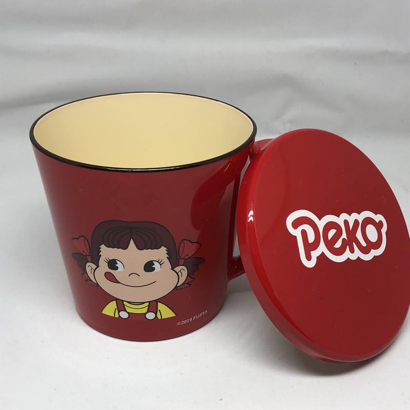 ペコふたつきマグカップ