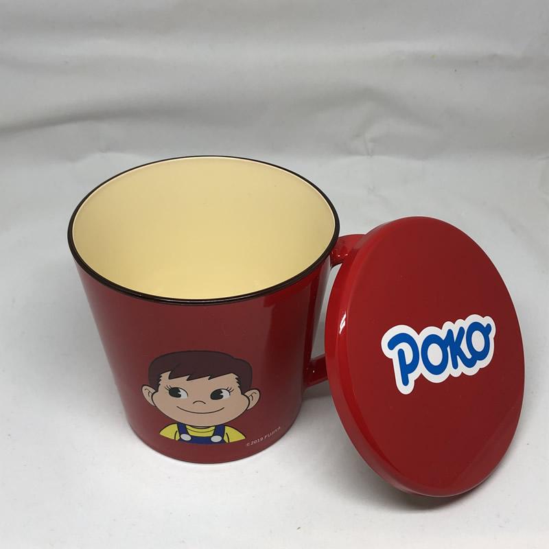 ポコふたつきマグカップ