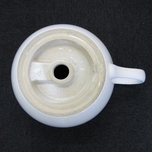 コーヒーカップ洗面ボウル 大 おしゃれ 手洗い鉢 手洗器 洗面台 オーバーフロー有り W535×D410×H250 | 品番INK-0403003H