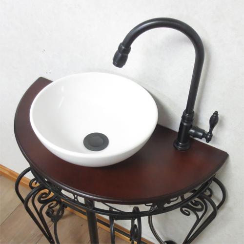 【Eセット12】洗面台セット アイアン おしゃれ DIY リフォーム W670   品番INK-1401151Hset