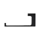 トイレットペーパーホルダー タオル掛け タオルハンガー タオルバー ステンレス 黒・ブラック W155×D65×H20 | 品番INK-0801124H