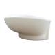 洗面ボウル おしゃれ 陶器 楕円 置き型(オンカウンターシンク) オーバーフロー有り W640×D430×H213   品番INK-0401032H
