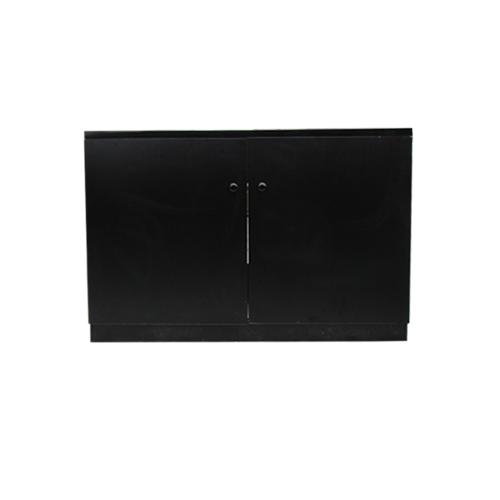 キッチン 洗面化粧台 人工大理石 オーバーフロー無し 黒 ブラック  W1200×D455×H770 | 品番INK-0501051H