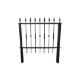 フェンス 支柱付き アイアン プロヴァンス風 アンティーク風 おしゃれ W1180×H1300   品番INK-1401115G