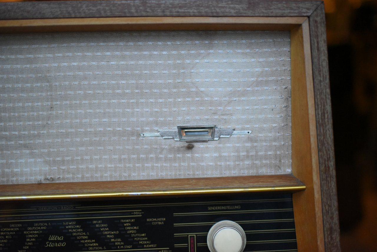 000781 ドイツ GERUFON RADIO ヴィンテージ ラジオ