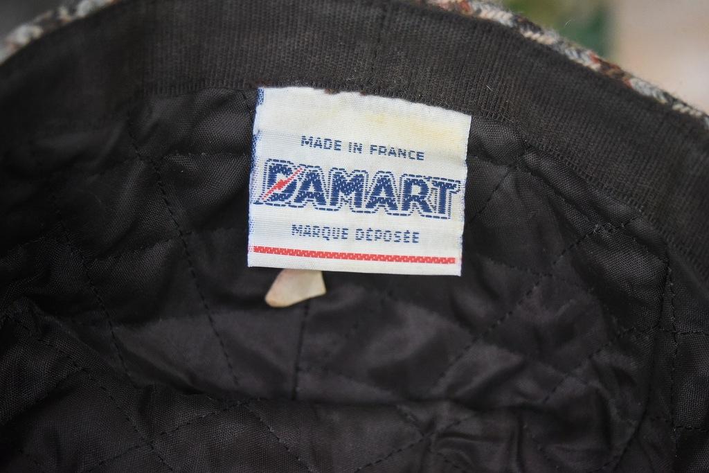 105046 ヴィンテージ 「DAMART」  ハンチング ハット MADE IN FRANCE