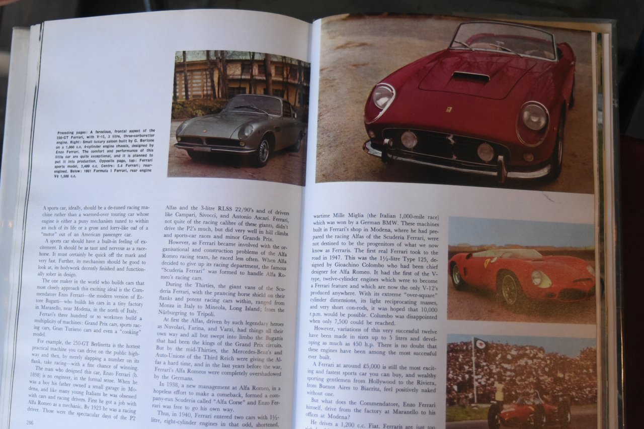 101928 洋書 「THE AUTOMOBILE BOOK RALPH STEIN」