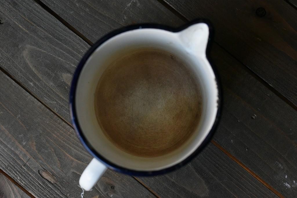 103839 ヴィンテージ ホーロー製 ミルクパン マグカップ MADE IN ENGLAND 英国