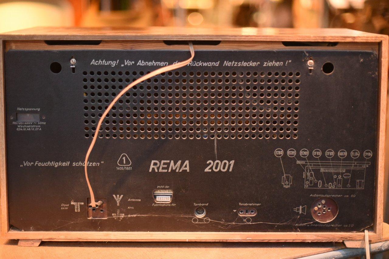 002224 ドイツ ヴィンテージ REMA 2001 ラジオ