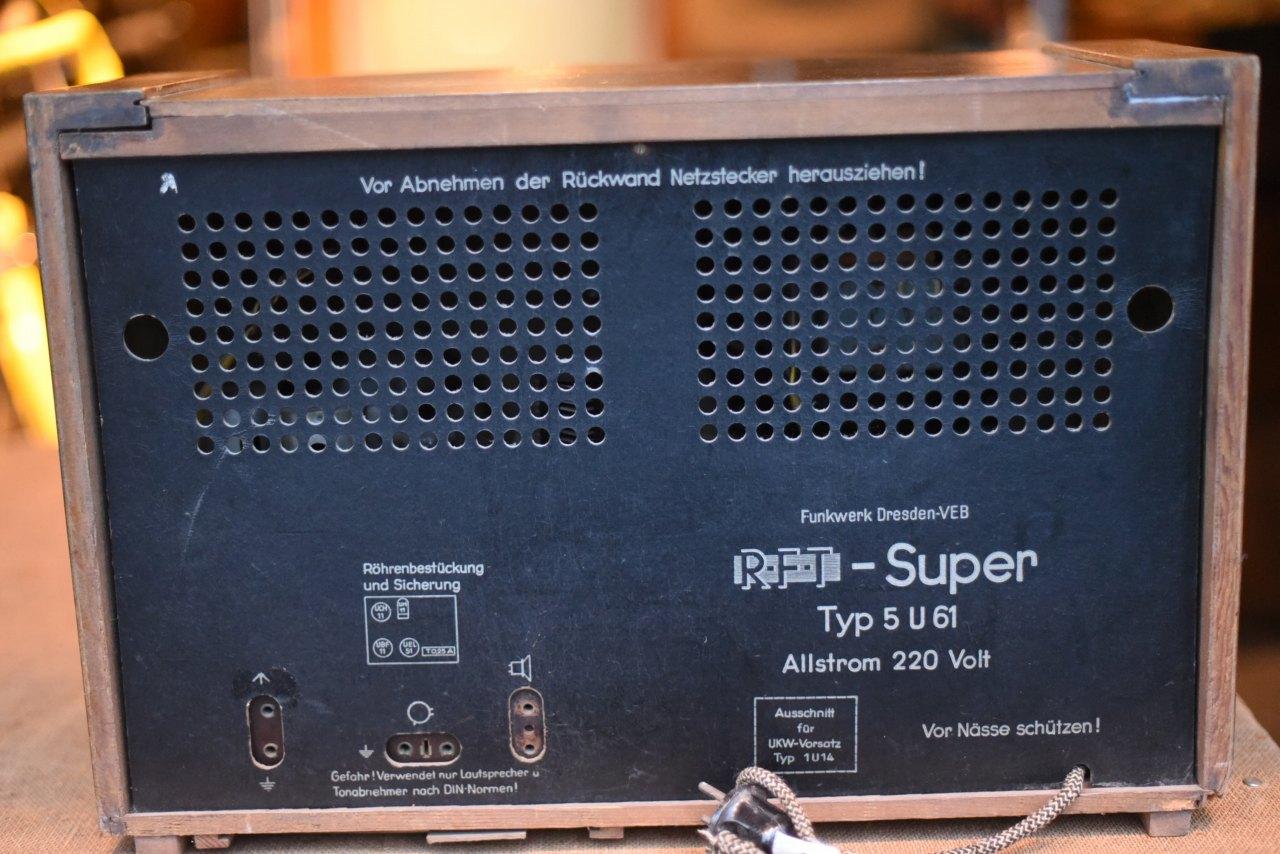 001092 ドイツ RFT ヴィンテージ ラジオ