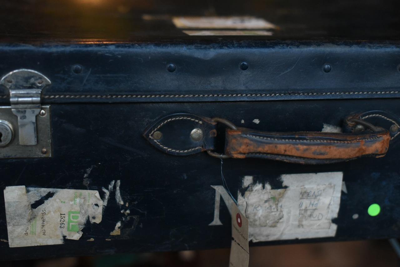 102605 UK ヴィンテージ 「ORIENT MAKE 製」 トランクケース 革鞄