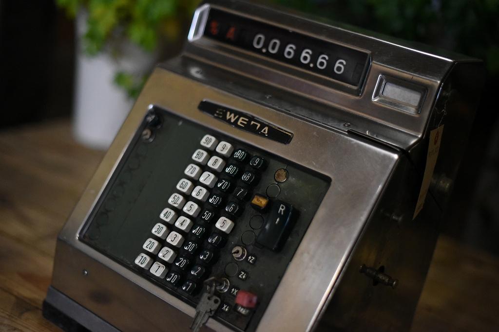 104926 ヴィンテージ 「SWEDA リットン・インダストリーズ社」 レジスター アメリカ製 MADE IN USA