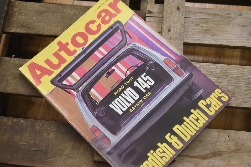 B0071 「AUTO CAR」 ヴィンテージバイク 英国車 古本 1960年代雑誌 ヴィンテージ