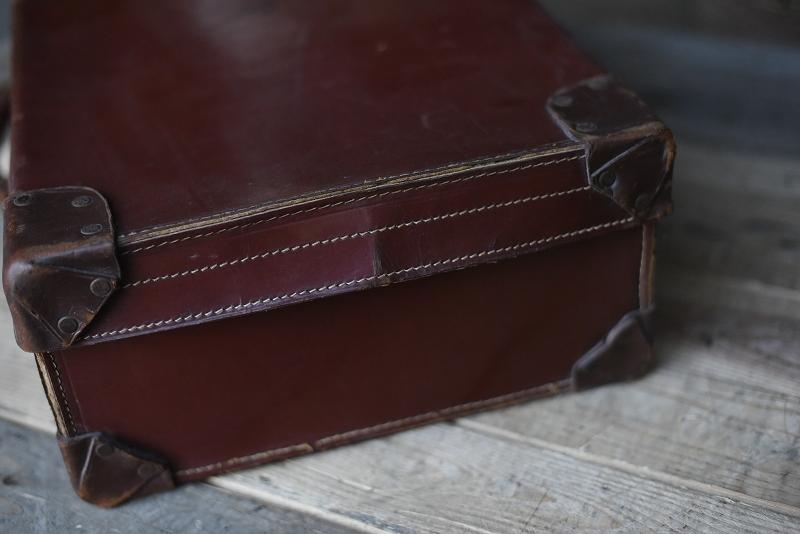 105137 ヴィンテージ 皮革製 トランクケース 革鞄 英国製