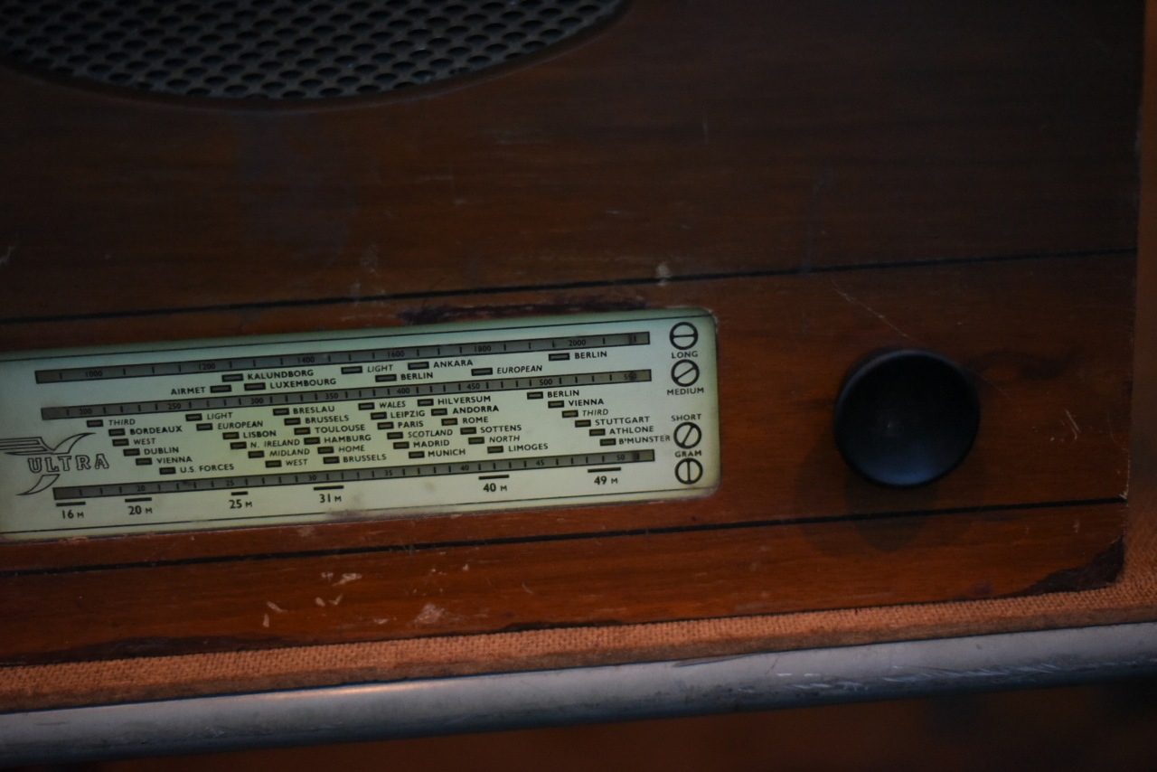 001747 ヴィンテージ ULTRA ラジオ  MADE IN ENGLAND