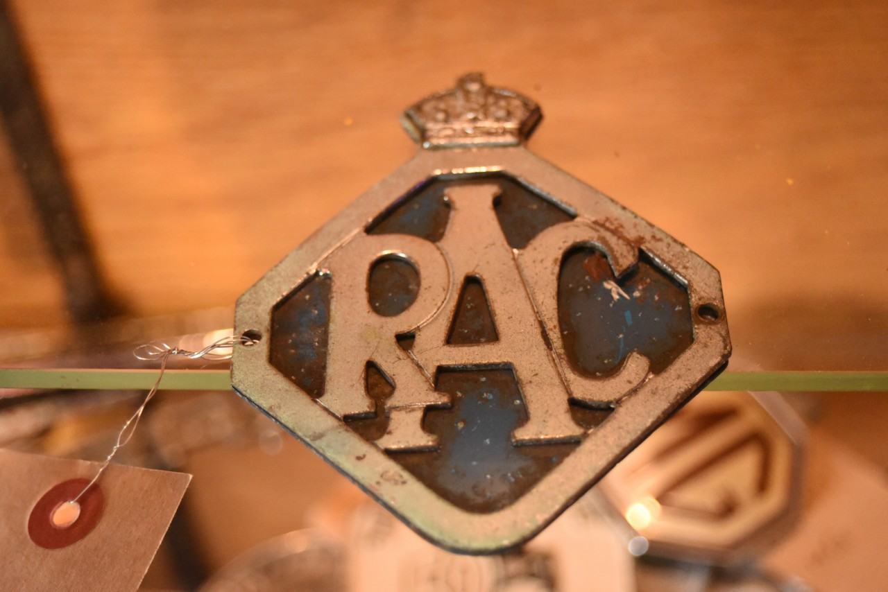 UK ヴィンテージ RAC カーバッチ 英国  101442