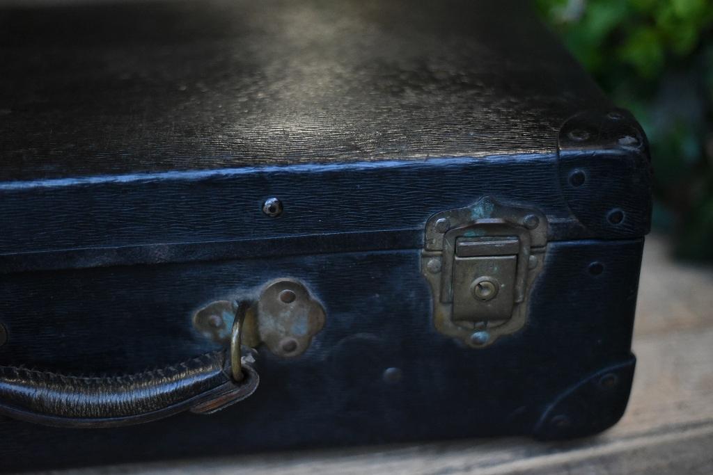104931 ヴィンテージ トランクケース 革鞄 英国製