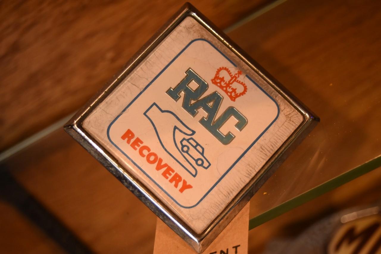 UK ヴィンテージ RAC カーバッチ 英国  101452