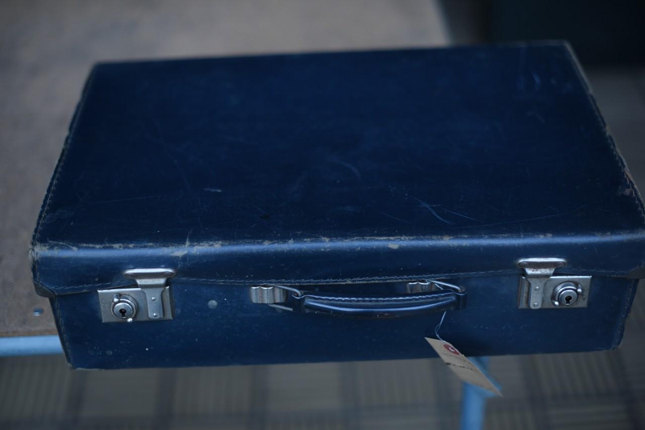 UK FIBRE トランクケース MADE in ENGLAND 革鞄 英国 101583