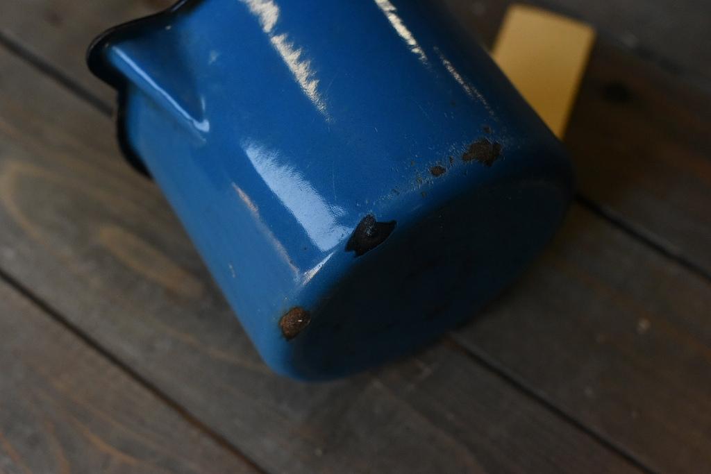 103835 ヴィンテージ ホーロー製 ミルクパン マグカップ MADE IN ENGLAND 英国